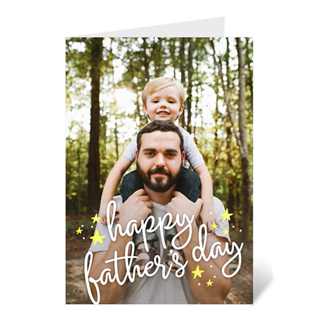 Father's Day Stars Overlay