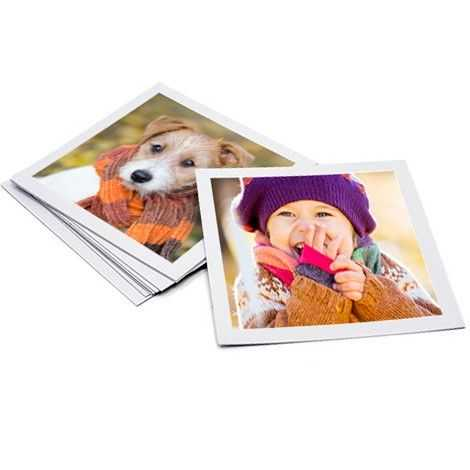 Mini Square Prints and Magnet Image