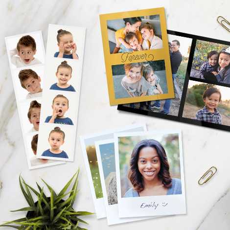 photo prints in multiple styles