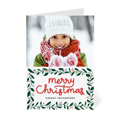 Card Image With Merry Christmas Invites