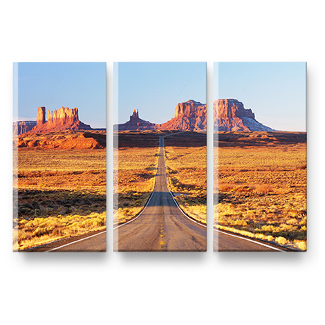 Split Canvas image With 3 Different Sizes