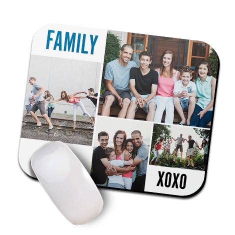 XOXO Family Mouse Mat
