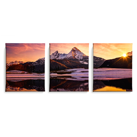 Icon Split Canvas Prints