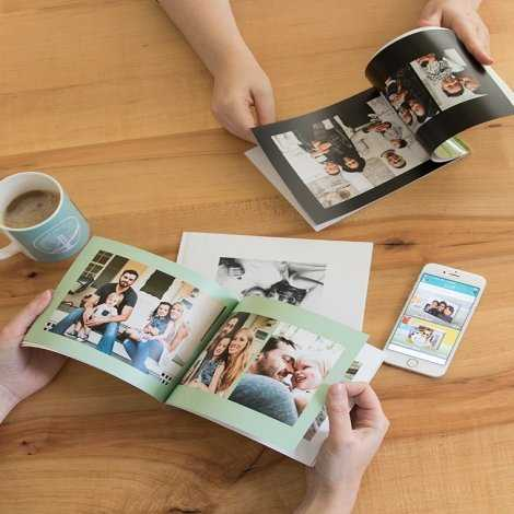Create photo books on-the-go