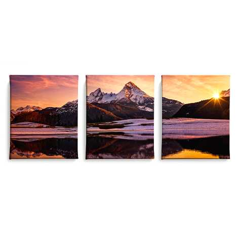 Icon Split Canvas Prints