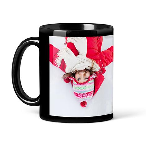 Photo Coffee Mug, 11oz, Black