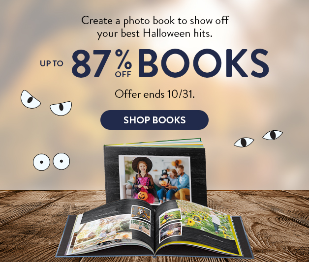 Up to 70% off Photo Books