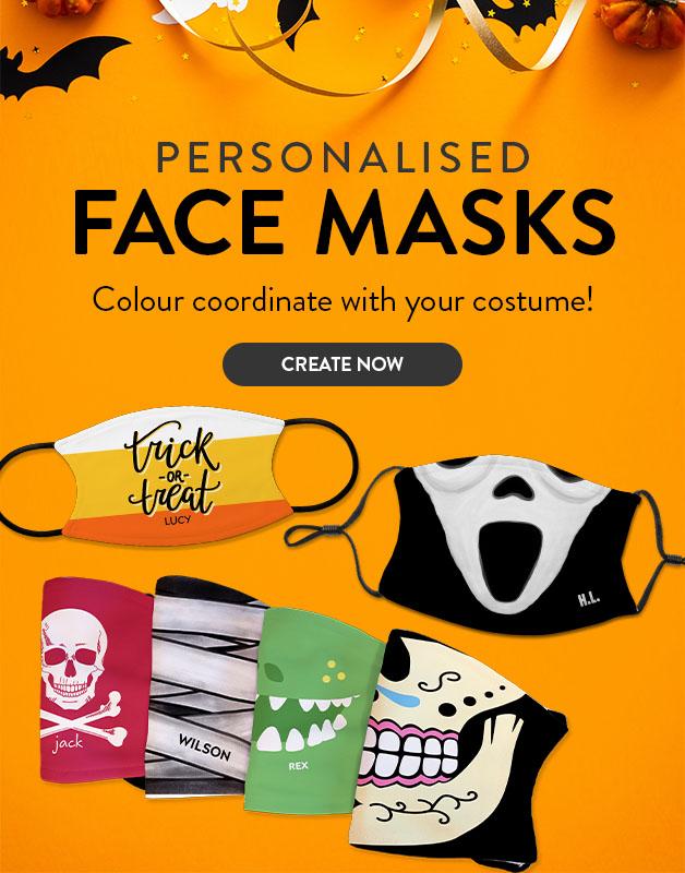 New Face Masks!