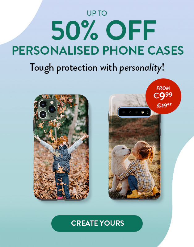 Up to 50% off Phone Cases!