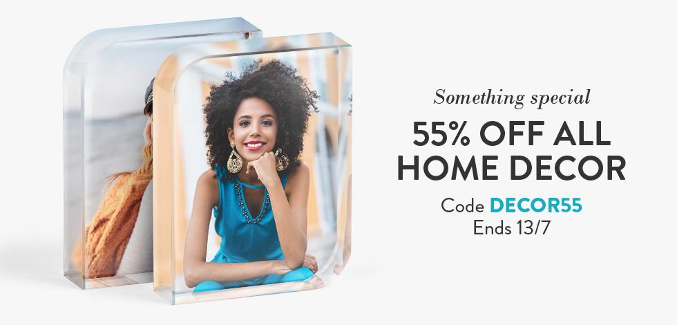 55% off all Home Decor