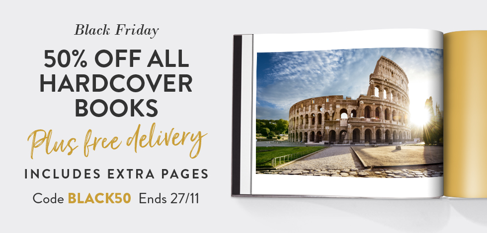 50% off + free delivery on all Hardcover Books