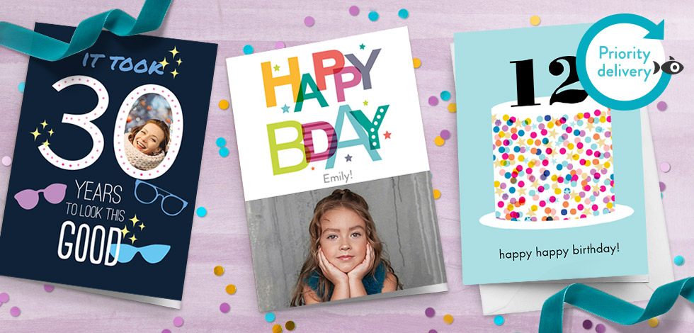 Personalised Cards Design Unique Photo Cards Online Snapfish Uk