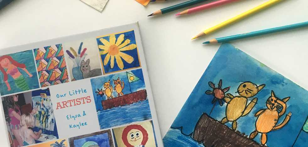 Transform Childhood Artwork Into a Photo Book