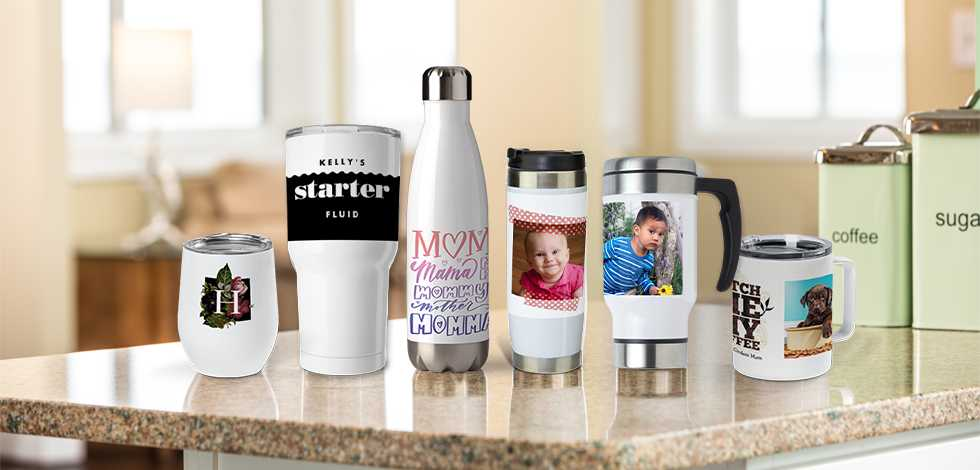 NEW PERSONALIZED PHOTO MUGS