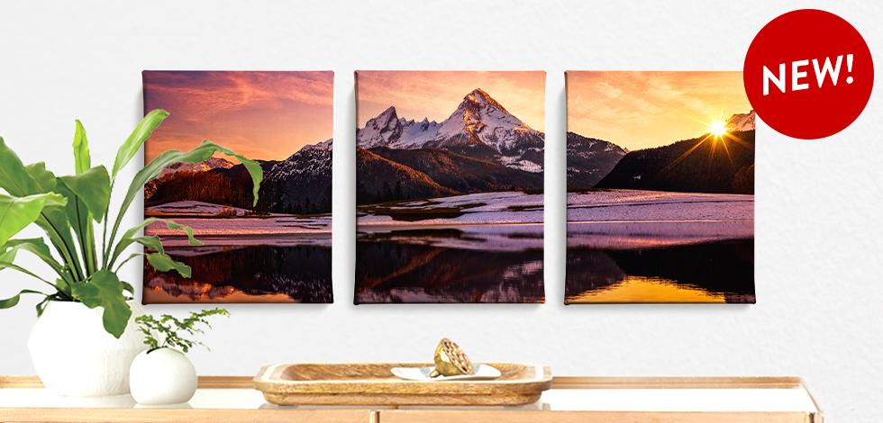 New! Split Canvas Sets