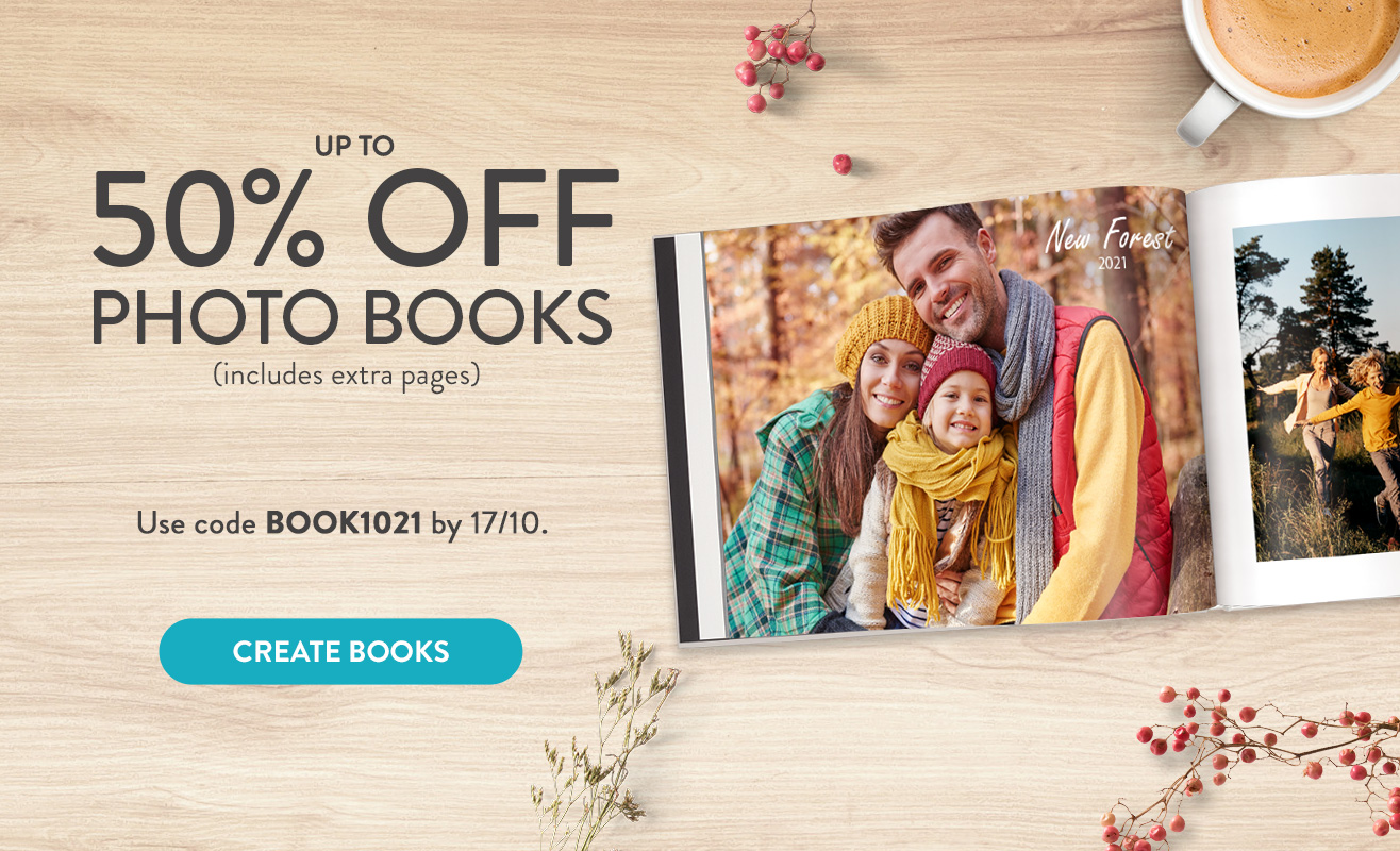 Up to 50% off Books!
