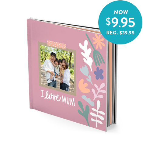 20x20cm hardcover photo book