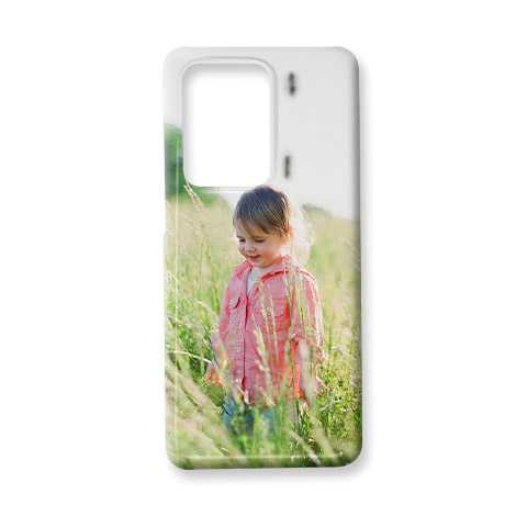 Phone case with picture of young child