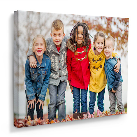 Canvas Print Image With Family
