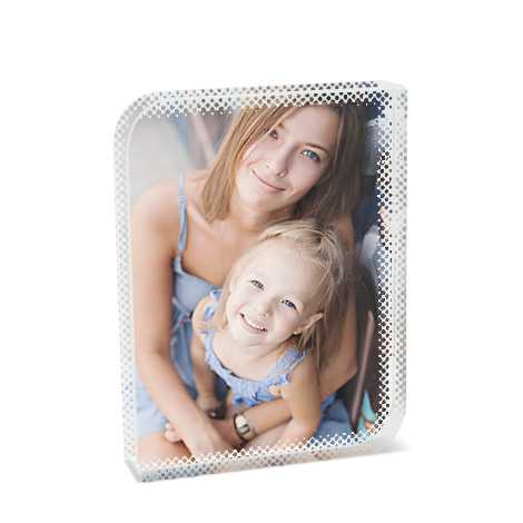 Glass Photo Block