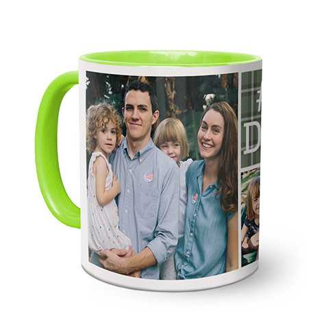 Light Green Coffee Mug 11oz