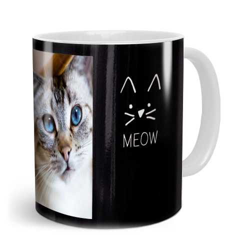 Image of cat on mug