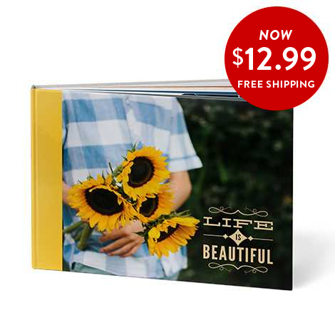 8x11 Hardcover Book + FREE shipping