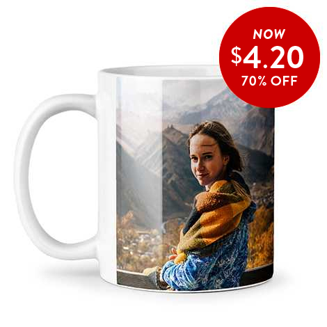 70% off 11oz. Photo Coffee Mugs