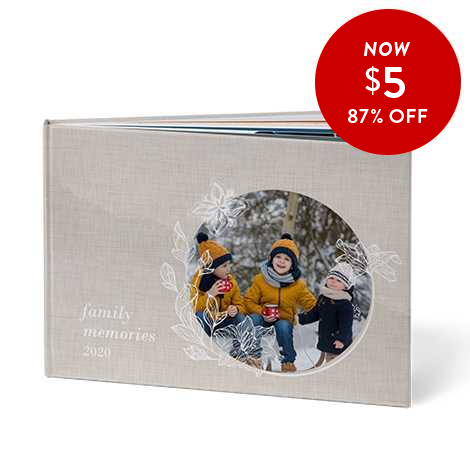 87% off 8x11 Hardcover Books
