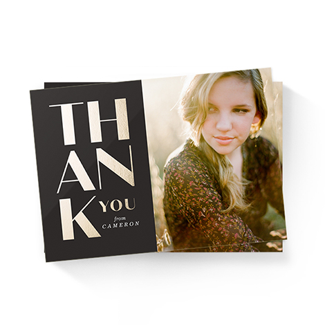 Thank You + Stationery