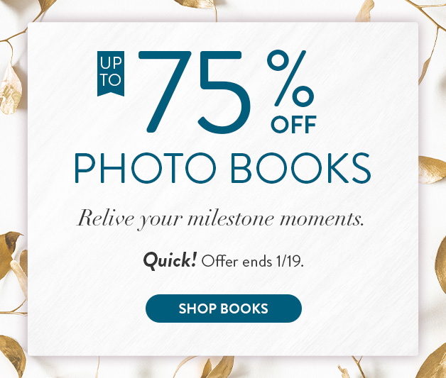 Up to 75% off Calendars