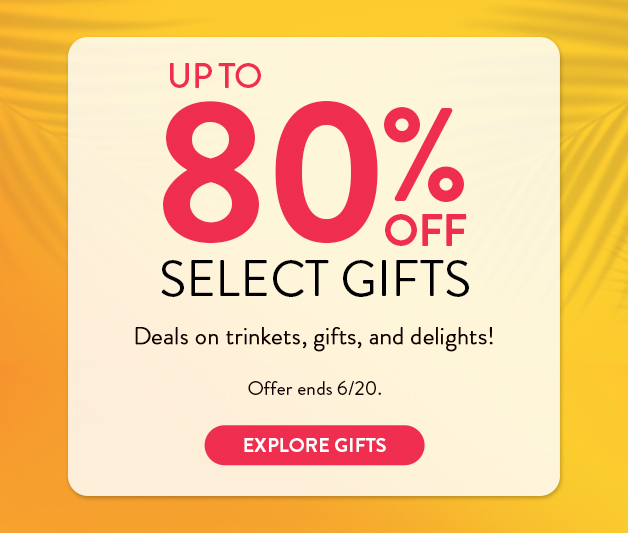 Up to 80% off photo gifts
