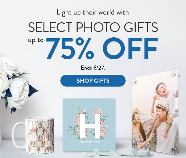 65% off Tabletop Photo Panels