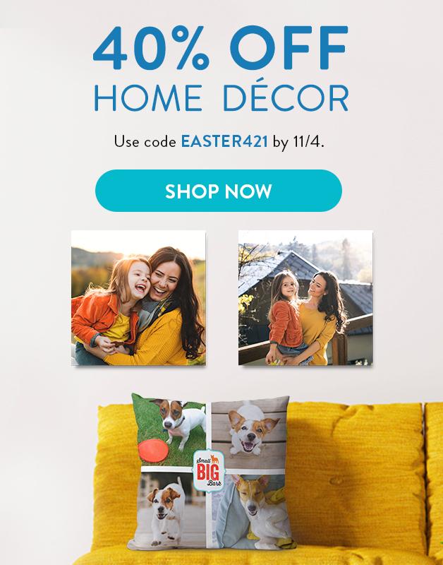 40% off Home Decor!