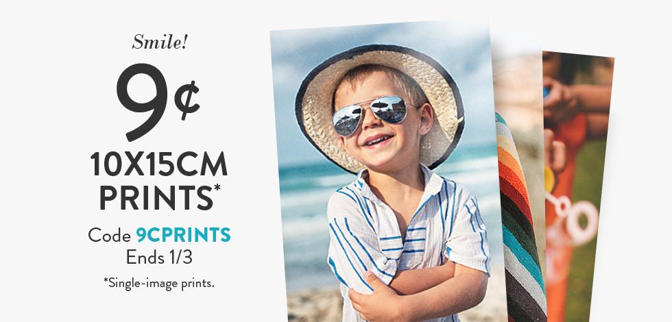 """9c 10x15cm (4x6"""") Prints*"""