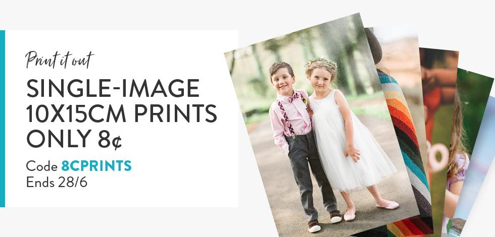 "4x6"" Prints* - only 8c each!"