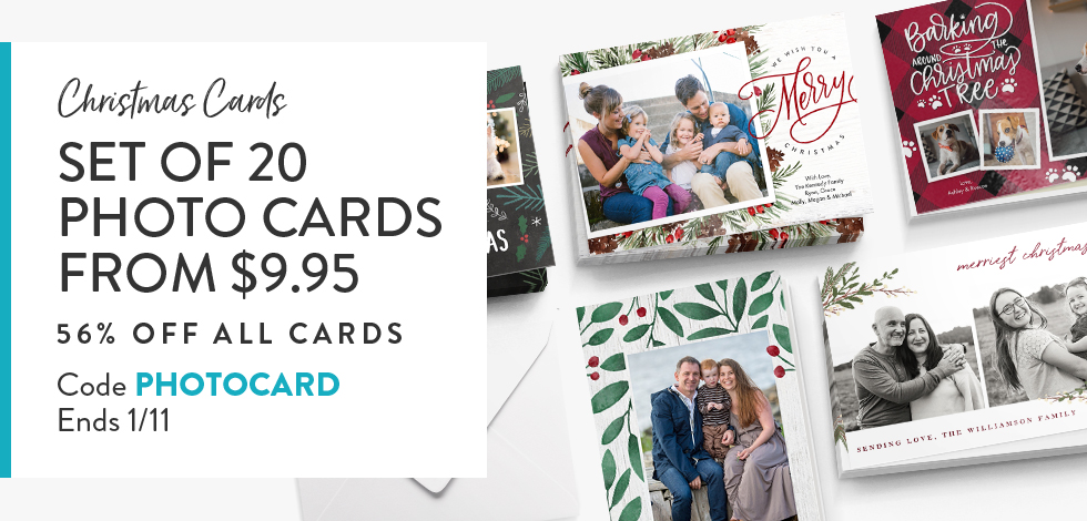 56% off all Cards