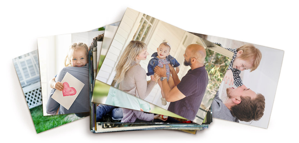 Stack of Photo Prints, click and chose the size