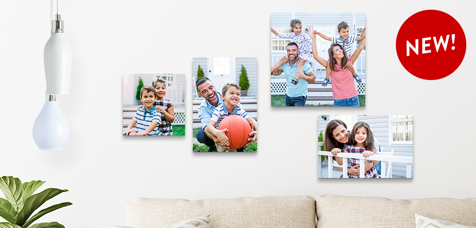 NEW! 12x12 and 8x12 Photo Tiles
