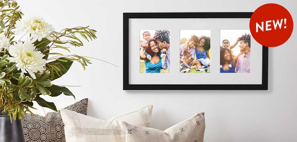 New! Multiphoto Framed Matted Prints