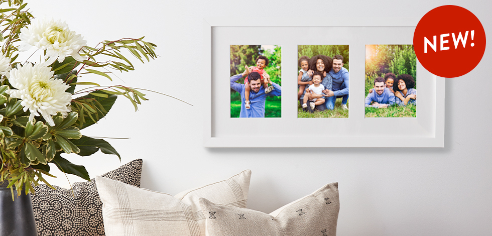 New! Multiphoto Matted Prints