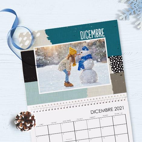 Crea fotocalendari e calendari personalizzati con le foto che ami