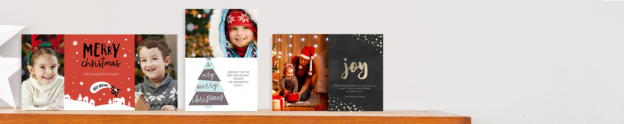 Christmas Cards Send a truly heartfelt message this year