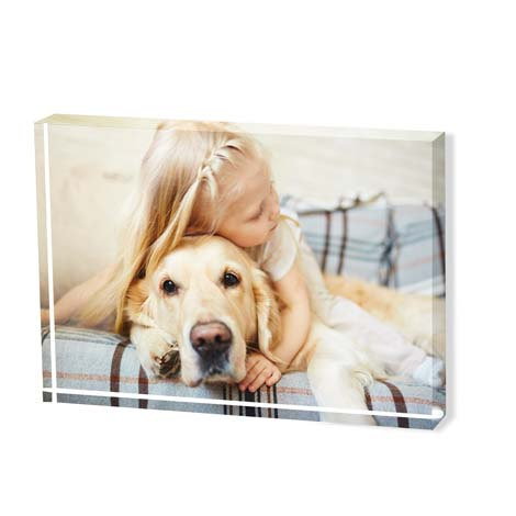 A6 Acrylic Photo Block - £29.99
