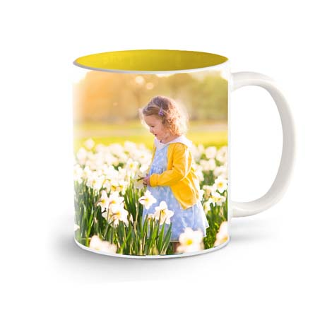 11oz Coloured Coffee Mug - £10.99