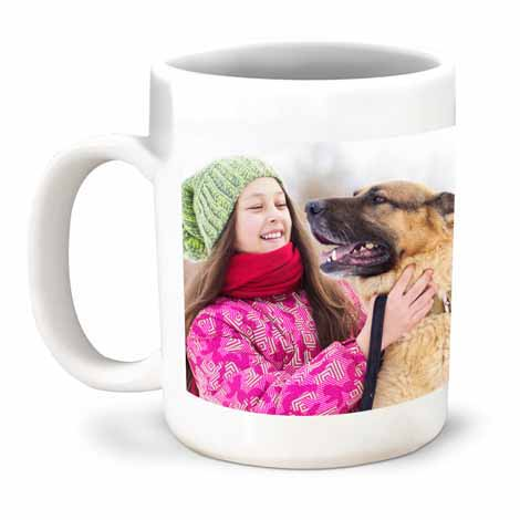 Large Coffee Photo Mug 15oz (440ml) £10.99