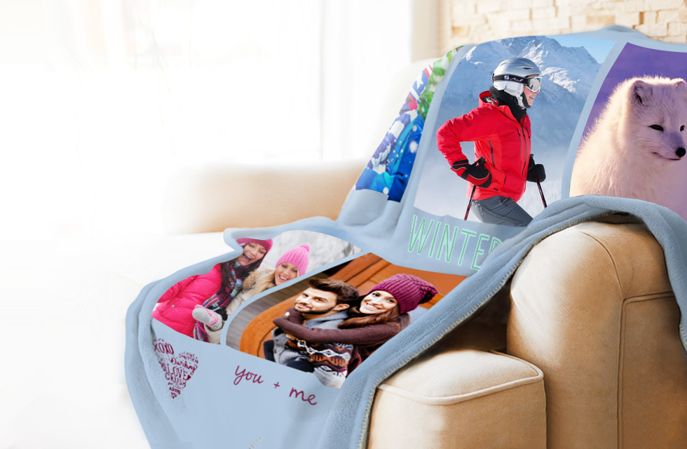 Personalised Photo Blankets - From Just £64.99