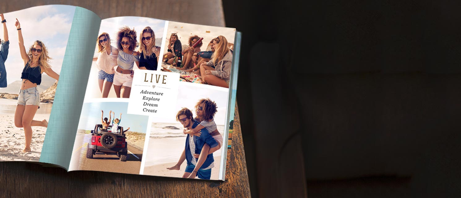 Bring Your Story to Life : 40% off ALL Photo Books - Code: NEWTALE18