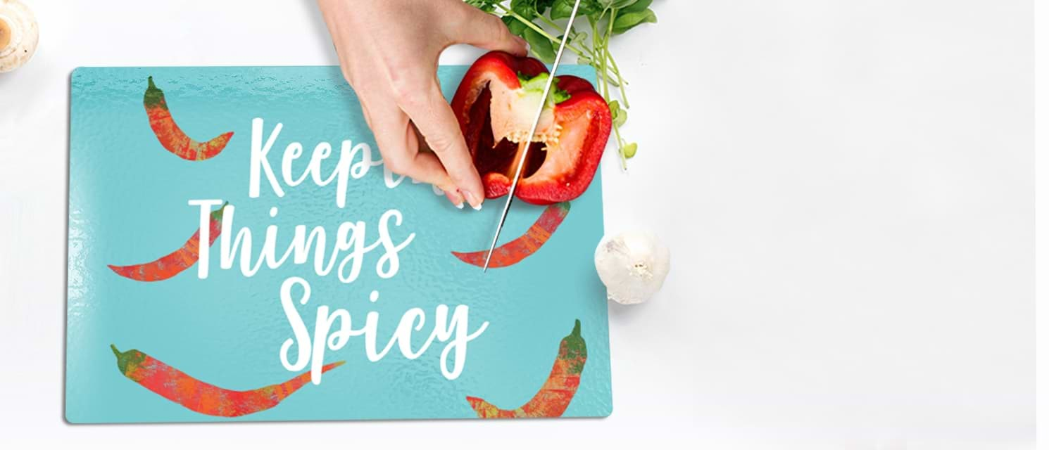 50% off Chopping Boards : Get creative in your kitchen - Code: CHOPCHOP18