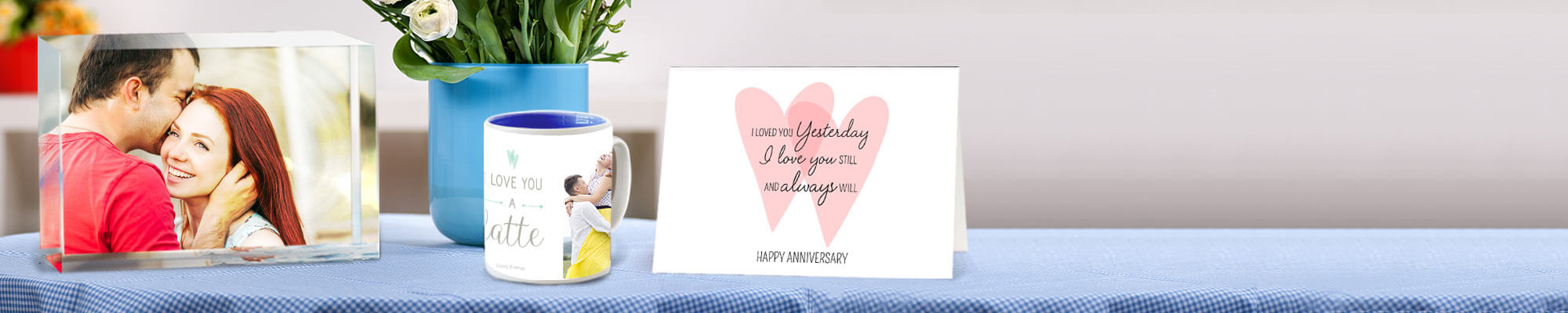 Anniversary Gifts & Cards - Celebrate your milestones